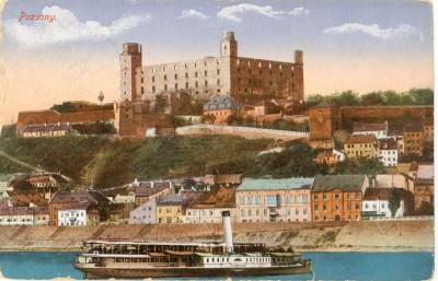 Stará pohľadnica Bratislavy