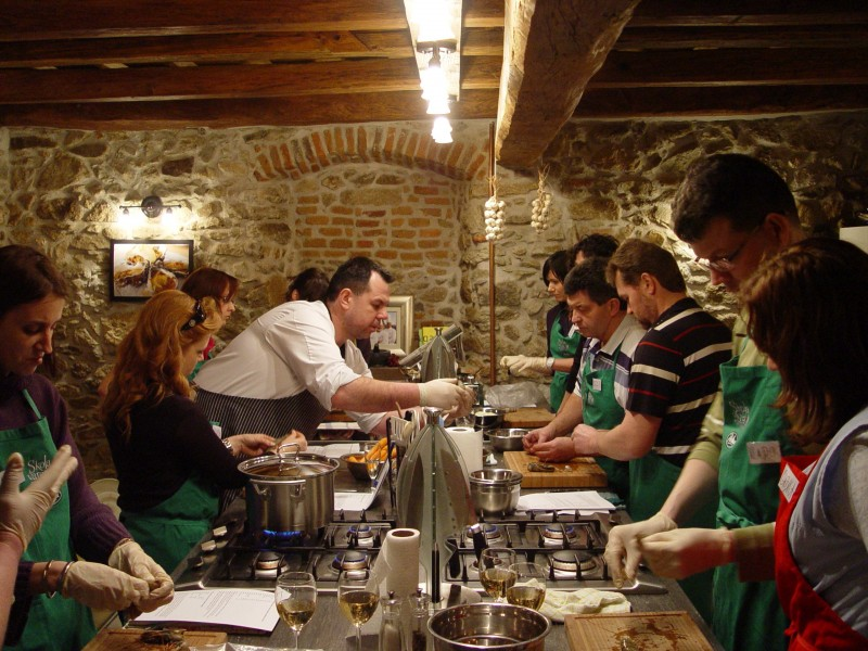 Cooking School for gourmands