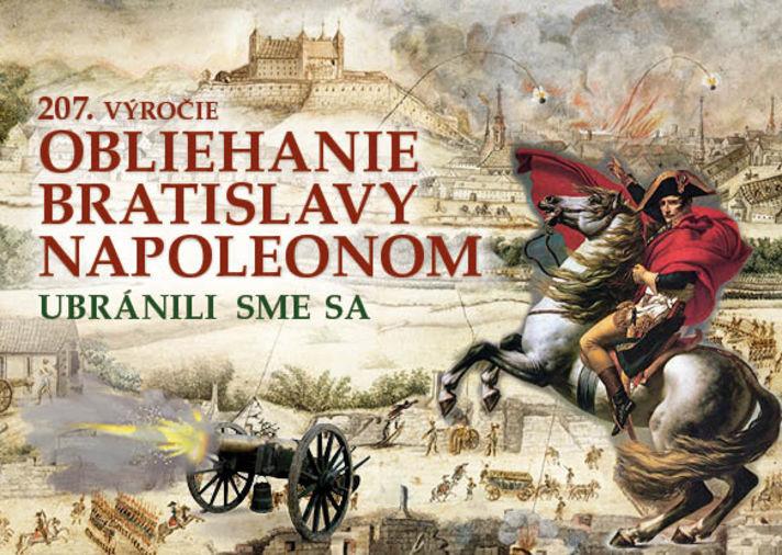 The siege of Bratislava by Napoleon 2017