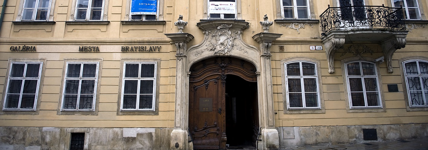 Bratislava City Gallery – Mirbach Palace, Pálffy Palace