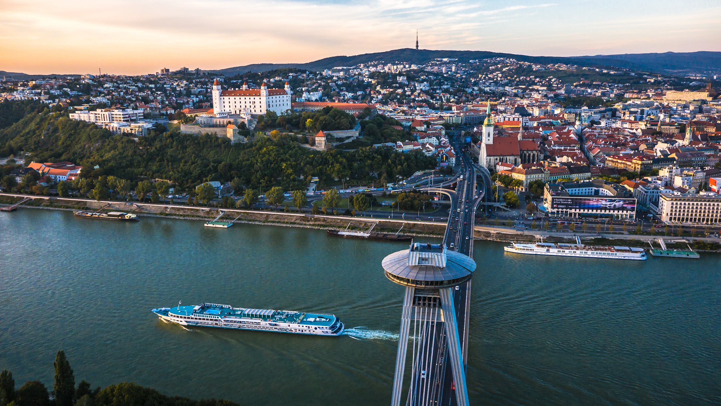 Bratislava, Towns to See in Slovak