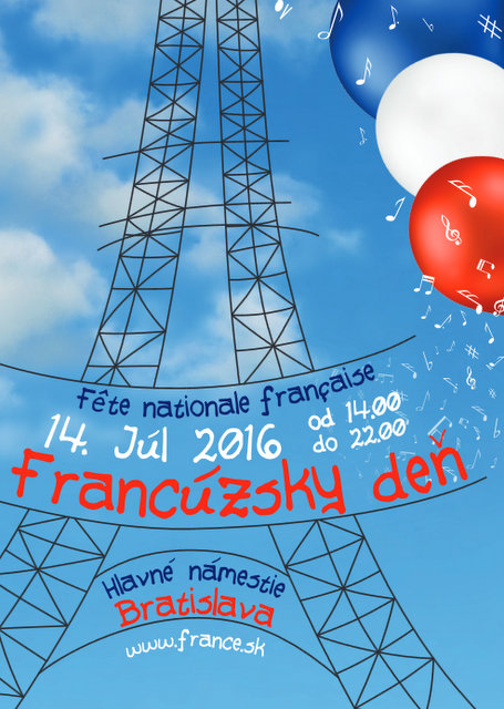 FRENCH DAY 2016 – ANNIVERSARY OF THE BASTILLE!