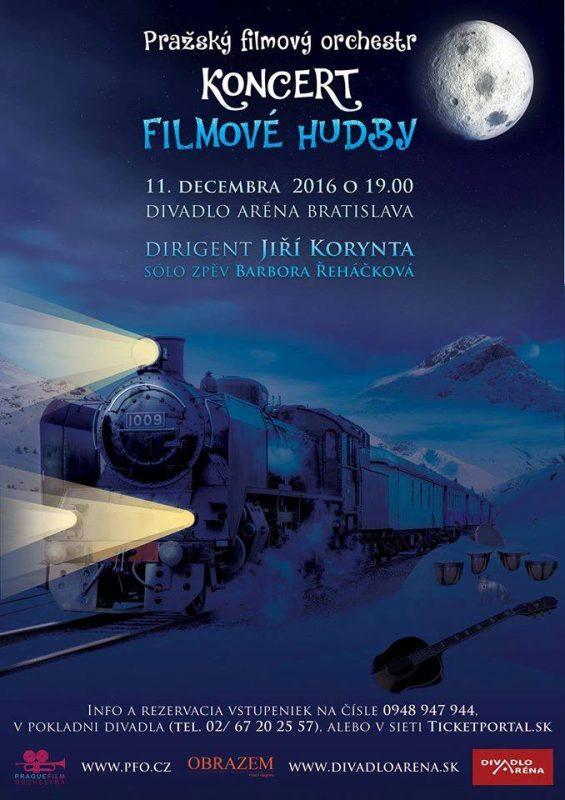 Christmas concert of film music – Prague film orchestra