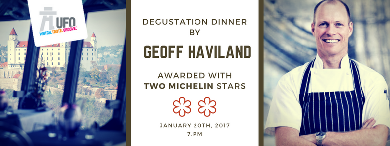 Degustation dinner with Michelin star chef