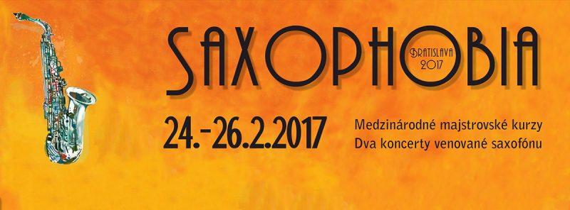 Saxophobia Bratislava 2017