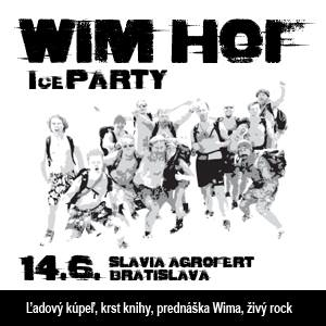 ICE PARTY WITH WIM HOF