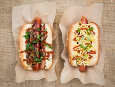 hot dog street food bratislava