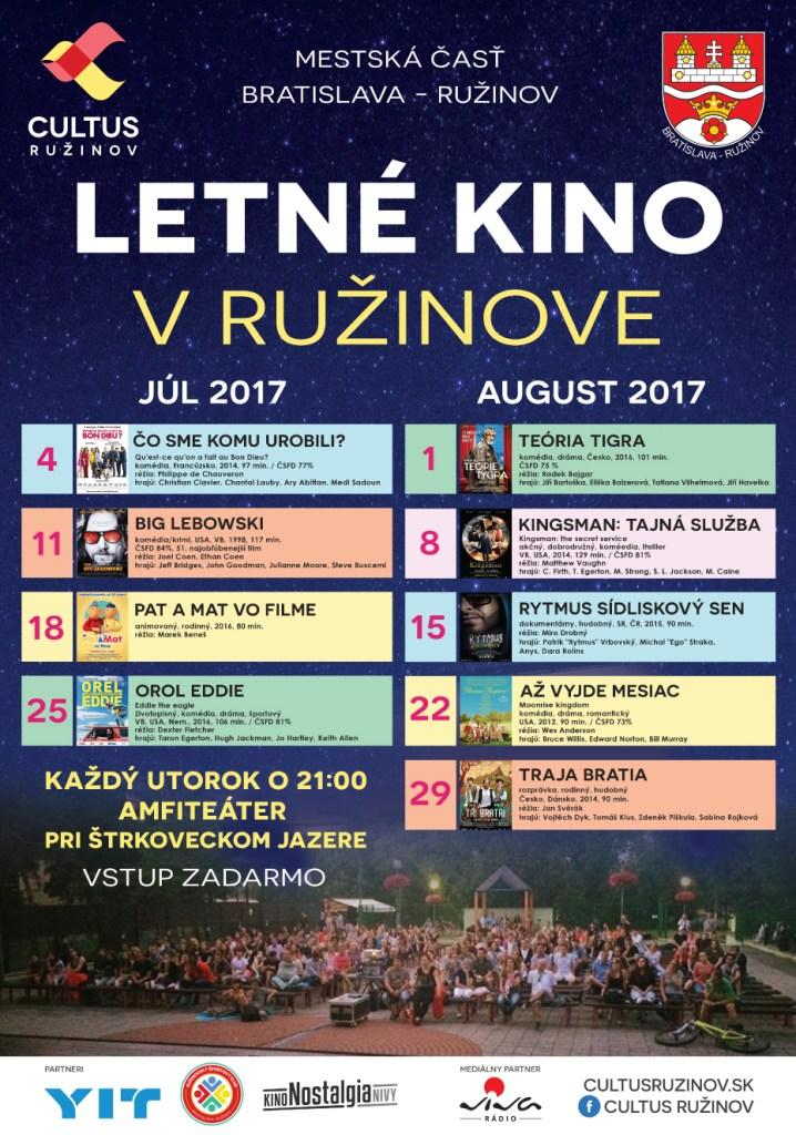 e50754c6a LETNÉ KINO V RUŽINOVE   Podujatia   Visit Bratislava