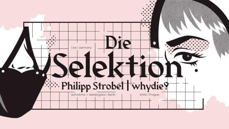 BATCAVE / SUNLESS / DIE SELEKTION / PHILIPP STROBEL & WHYDIE?