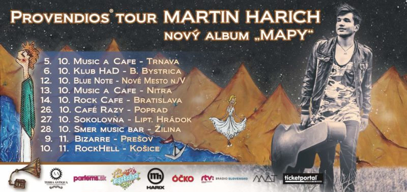 MARTIN HARICH – PROVENDIOS TOUR