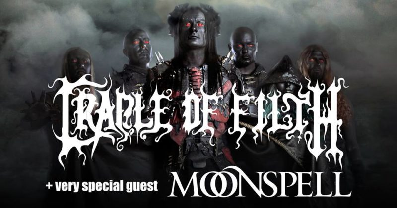 CRADLE OF FILTH & MOONSPELL