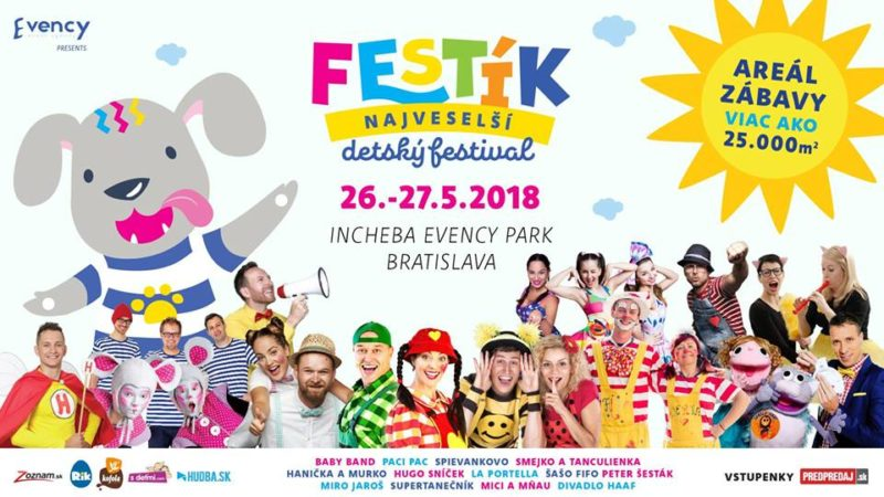 FESTÍK – THE MOST CHEERFUL CHILDREN'S FESTIVAL