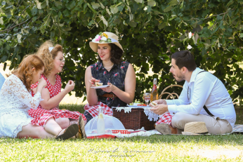 Zeitgemäßes Picknick in Bratislava