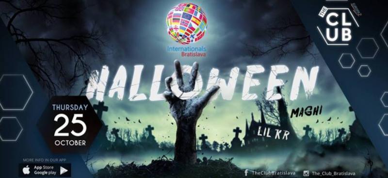 esn international halloween bratislava
