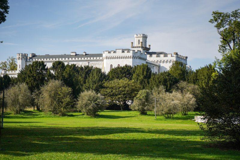 Rusovecký zámocký park