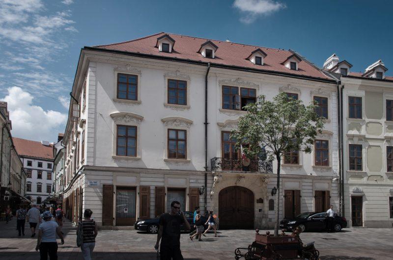 KUTSCHERFELD'S PALACE | Places | Visit Bratislava